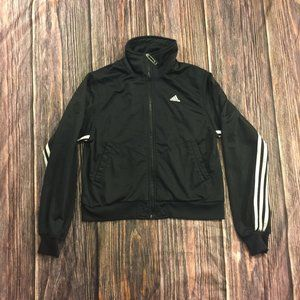 Adidas Full-Zip Striped Small Track Jacket